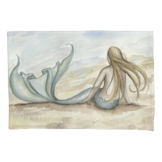 Camille Grimshaw Seaside Mermaid Pillowcase