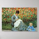 Camille Monet & Child Monet Mother's Day Print