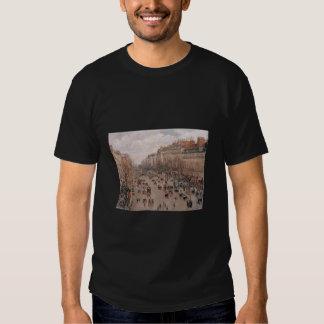 Camille Pissaro - Boulevard Monmartre Paris 1897 T Shirts