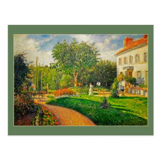 Camille Pissaro Garden of Les Maturins Postcard