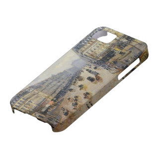 Camille Pissarro- Avenue de l'Opera Rain Effect iPhone 5 Cases