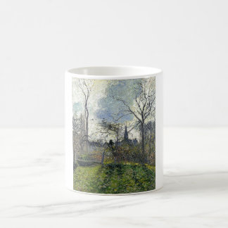Camille Pissarro - Bell Tower of Bazincourt 1885 Coffee Mugs
