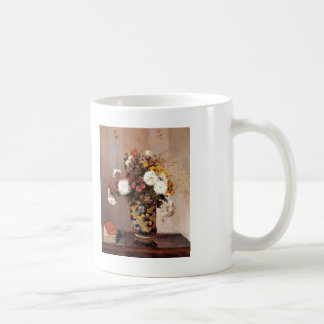 Camille Pissarro- Chrysanthemums In a Chinese Vase Coffee Mug