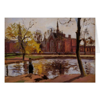 Camille Pissarro- Dulwich College, London Card