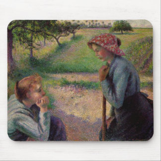 Camille Pissarro Fine Art Impressionist cards Gif Mousepads