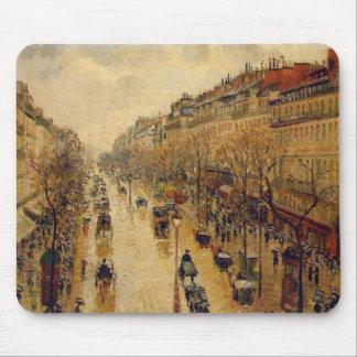 Camille Pissarro Fine Art Impressionist cards, Gif Mouse Pad