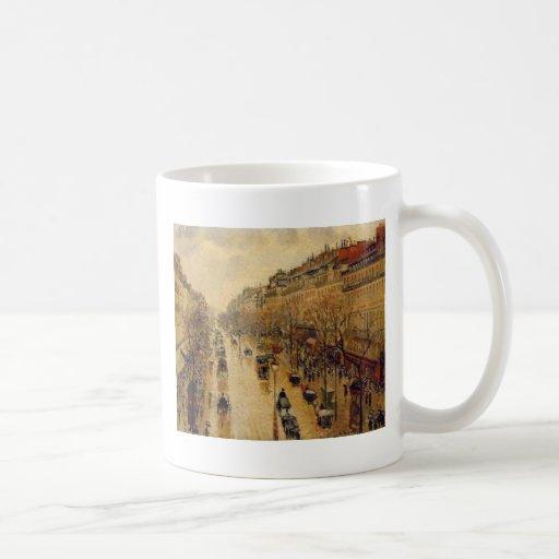 Camille Pissarro Fine Art Impressionist cards, Gif Mug