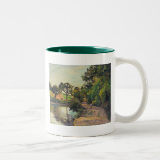 Camille Pissarro Fine Art Tees and Gifts Two-Tone Mug