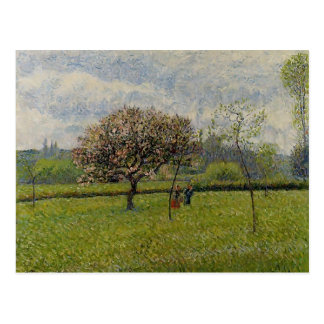Camille Pissarro- Flowering Apple Trees at Eragny Postcard
