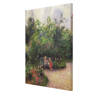 Camille Pissarro | Garden at the Hermitage Canvas Print