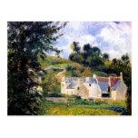 Camille Pissarro- Houses of l'Hermitage, Pontoise Postcards