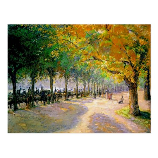 Camille Pissarro- Hyde Park, London Postcard