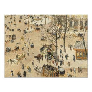 Camille Pissarro - La Place due Theatre Francais Photograph