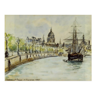Camille Pissarro- London, St. Paul's Cathedral Postcard