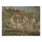 Camille Pissarro - Red Roofs, Corner of a Village Poster