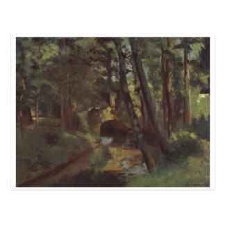 Camille Pissarro - Small Bridge of Pontoise 1875 Postcard