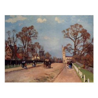 Camille Pissarro- The Avenue, Sydenham Postcard