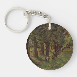 Camille Pissarro- The cabbage of Pontoise Acrylic Key Chain
