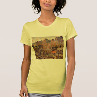 Camille Pissarro- The Fair, Dieppe Sunny Afternoon Tee Shirt