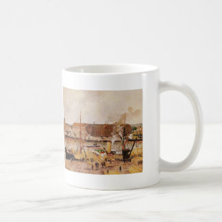 Camille Pissarro- Unloading Wood at Rouen Mugs