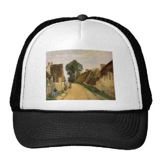 Camille Pissarro- Village Street, Auvers-sur-Oise Cap