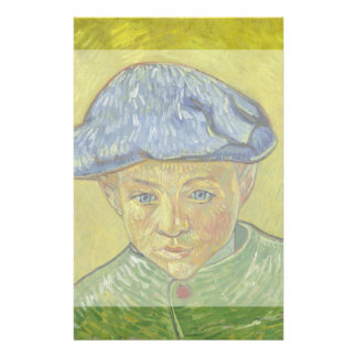 Camille Roulin by Vincent Van Gogh Custom Flyer