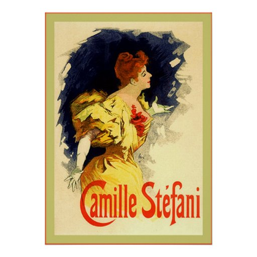 Camille Stéfani ~ Vintage French Advertising Poster