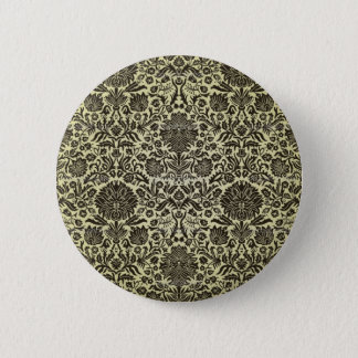 """""""Camille"""" Vintage Wall Paper 6 Cm Round Badge"""