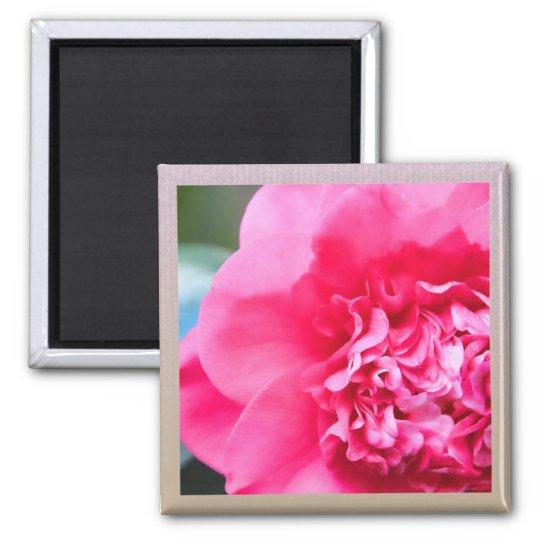 Camillia Artistic Pink Flower Magnet