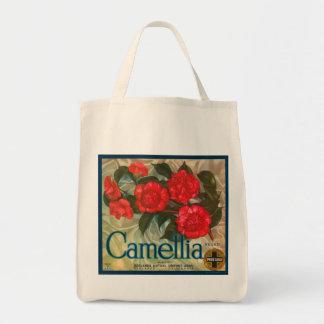 Camillia Brand Oranges Classic Fruit Crate Label Grocery Tote Bag