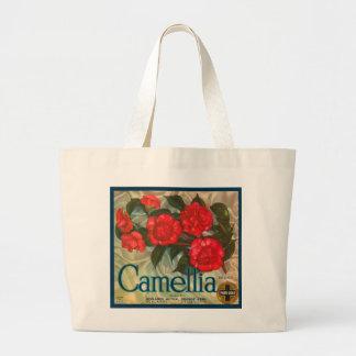 Camillia Brand Oranges Classic Fruit Crate Label Jumbo Tote Bag