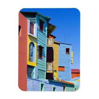 Caminitas La Boca District Rectangular Photo Magnet