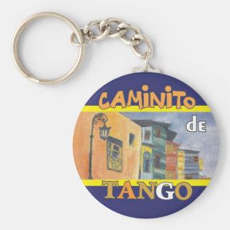 Caminito Basic Round Button Key Ring