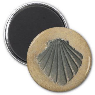 Camino de Santiago 6 Cm Round Magnet