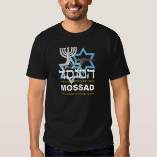 Camiseta Preta do Mossad T Shirt