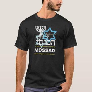 Camiseta Preta do Mossad T-Shirt