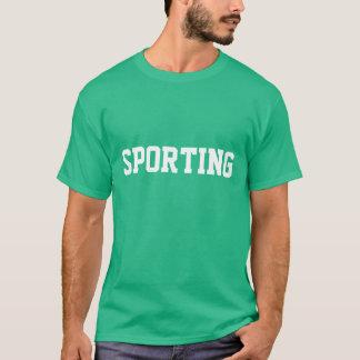 """""""Camisola Sporting Com Nome"""" T-Shirt"""