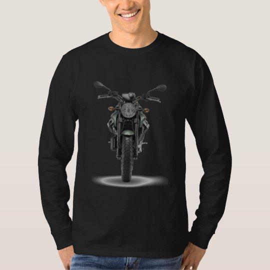 Camista Black MLonga - Custom MotoGuzzi Griso T-Shirt