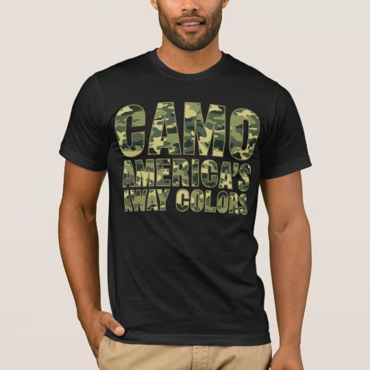 Camo America's Away Colours Shirt
