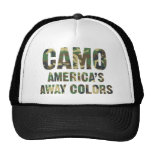 Camo America's Away Colours Trucker Hat