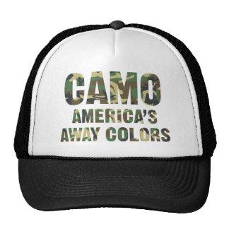 Camo America's Away Colours Trucker Hat