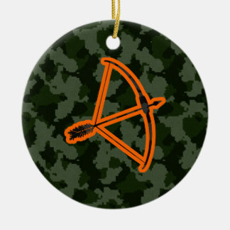 Camo Archery Christmas Ornament