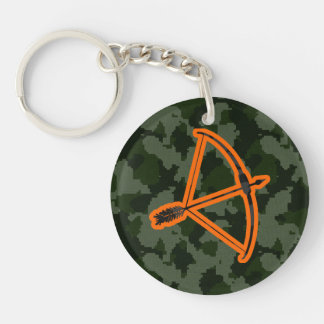 Camo Archery Key Ring