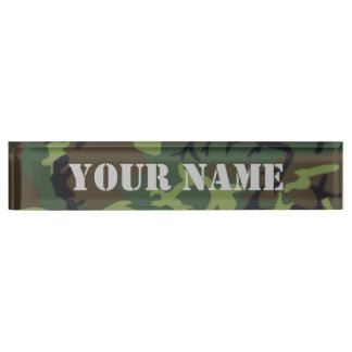 Camo - Army Green Edition Nameplate