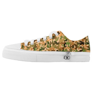 Camo Autumn Low Tops