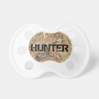 Camo Baby Pacifier w/ Personalized Name