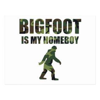 Camo Bigfoot Is My Homeboy Post Card