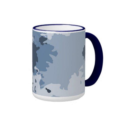 Camo Blue Mug