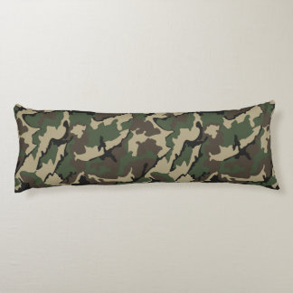 Camo, Brushed Body Pillow