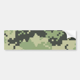 Camo Bumper Sticker